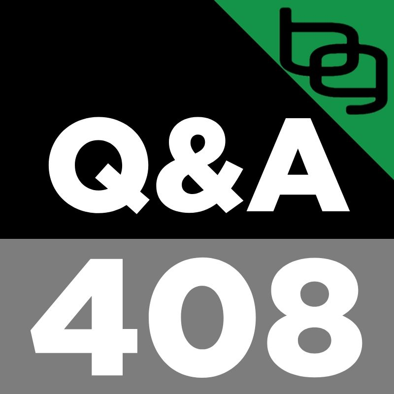Q&A 408: The Awesome History Of Fad Diets, How To Upgrade Your Protein Shake, Blood Flow Restriction & Super Slow Training & Much More!