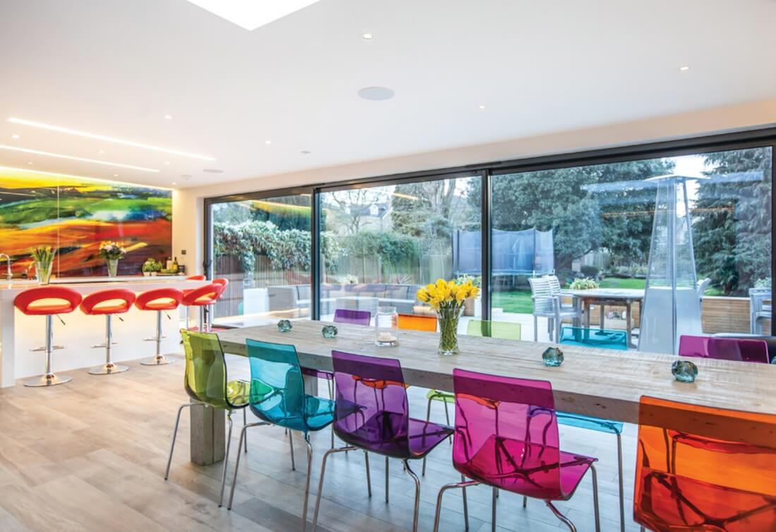 5 Creative Ways to Get Bold Colors into Your Space : Interior Design
