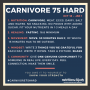 Artwork for Judy Cho - Carnivore 75 Hard into the New Year!