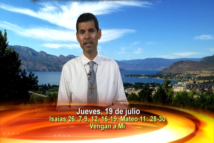 """Artwork for Dios te Habla con Jose Luis Elias;   Tema el hoy:""""Vengan a mí, Todos los que están Fatigados y Agobiados"""""""