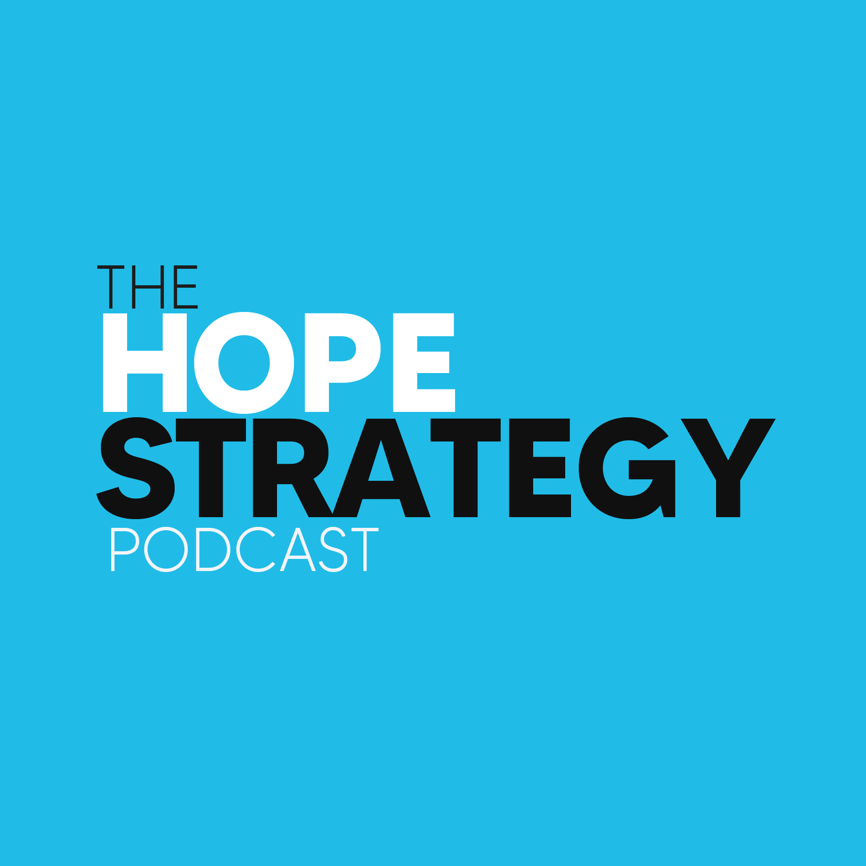 The Hope Strategy Podcast show art