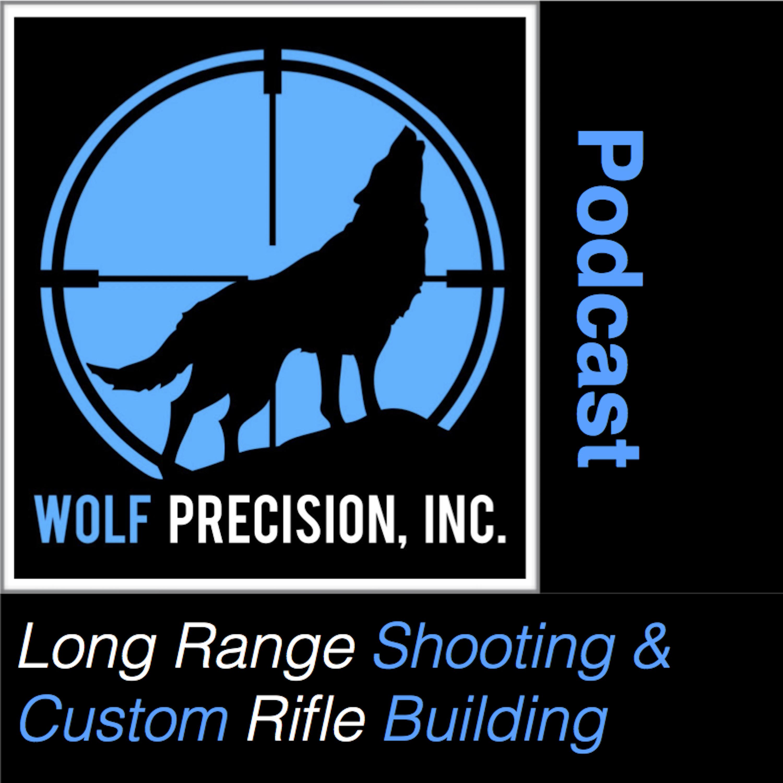 long range shooting and custom rifle building podcast show art