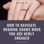 Artwork for #196 - How to Navigate Wedding Shows when you are Newly Engaged