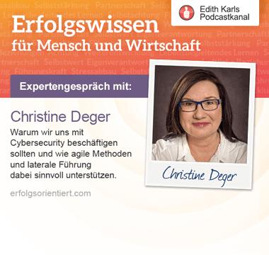 Artwork for Im Gespräch mit Christine Deger