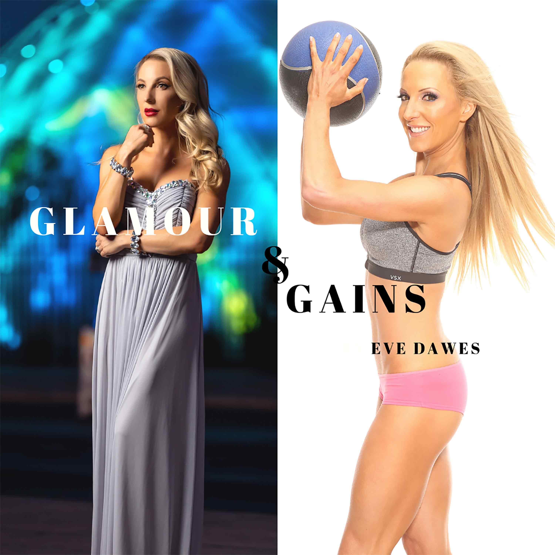 Glamour & Gains show art