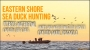 Artwork for Eastern Shore Sea Duck Hunting- With The Pitboss Captain Jeff Coats and Captain Marc Spagnola