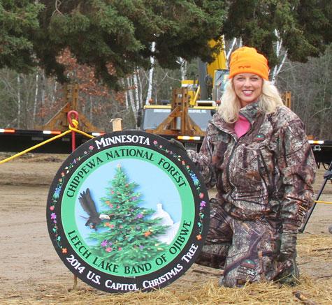 Anita Williams HFJ 81 The Nation's Christmas Tree and Cold Hunting