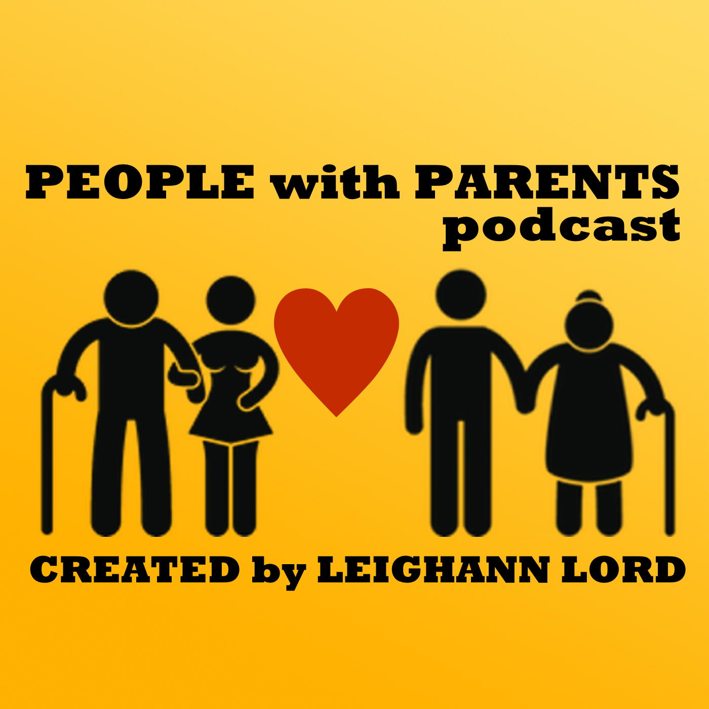 People with Parents Podcast show art