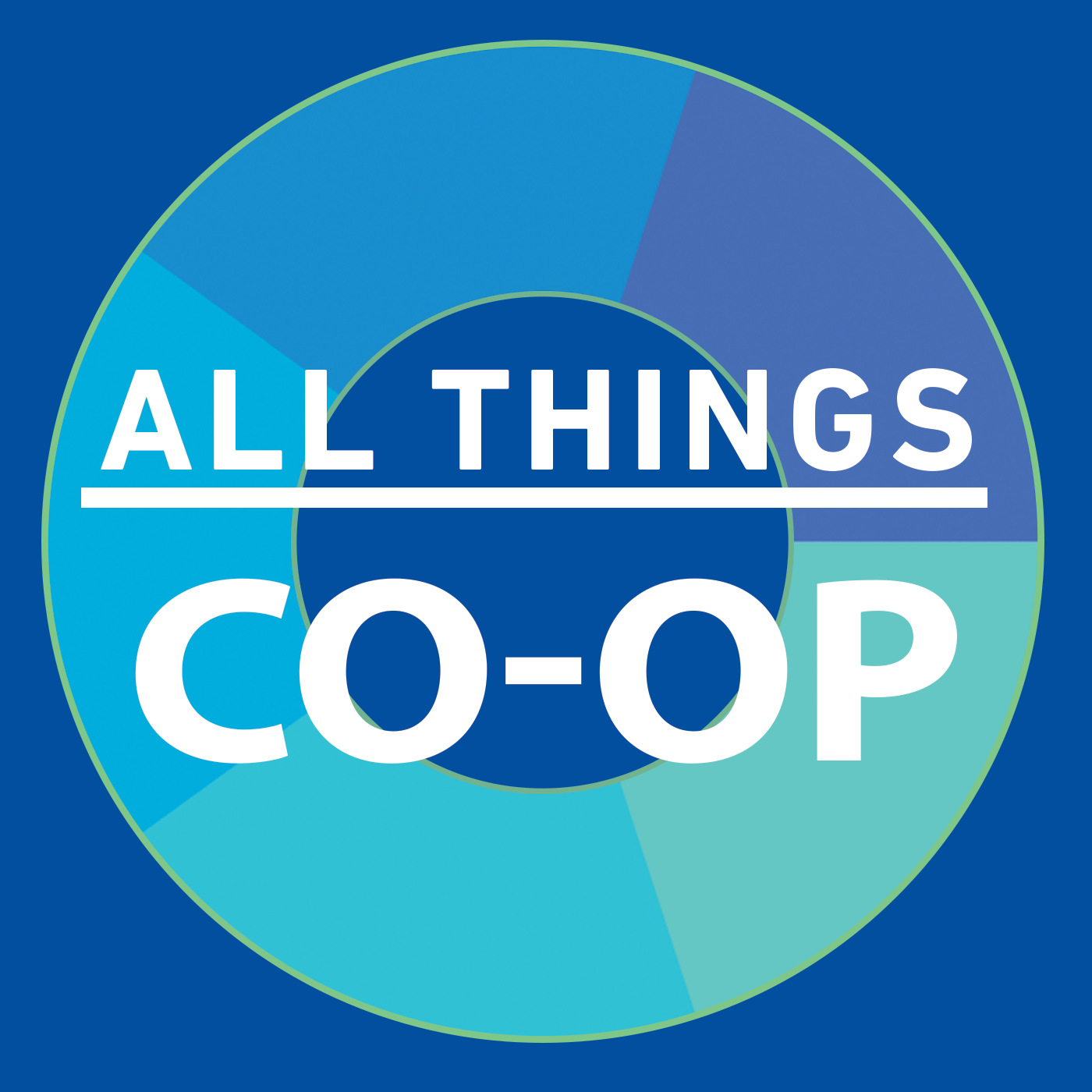 All Things Co-op's podcast show art