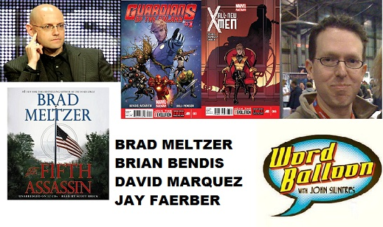 Brad Meltzer, Bendis & Wacker Talk Guardians Of The Galaxy, David Marquez, & Jay Faerber