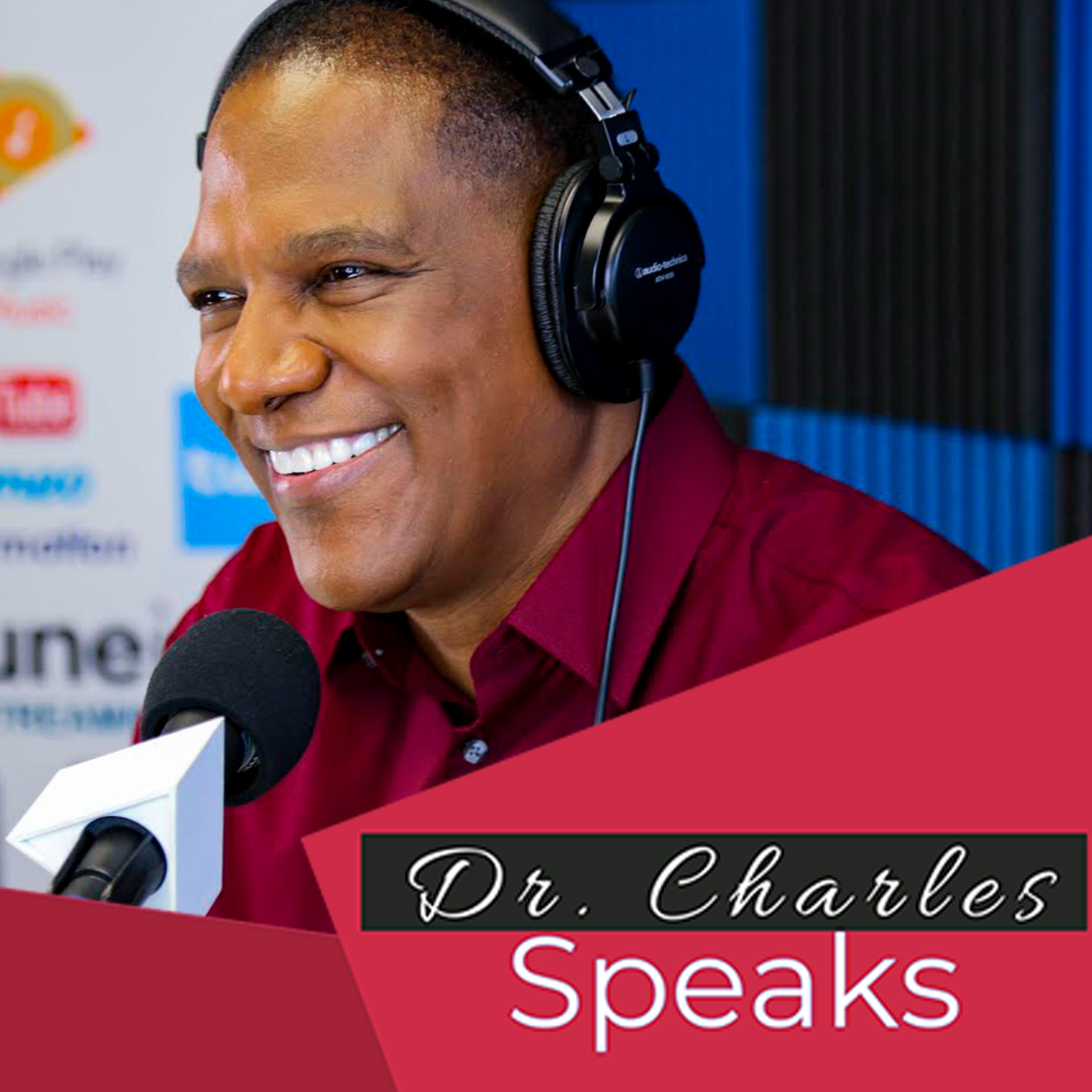 Artwork for #19 Dr. Charles Speaks   How To Make A Change In Your Environment