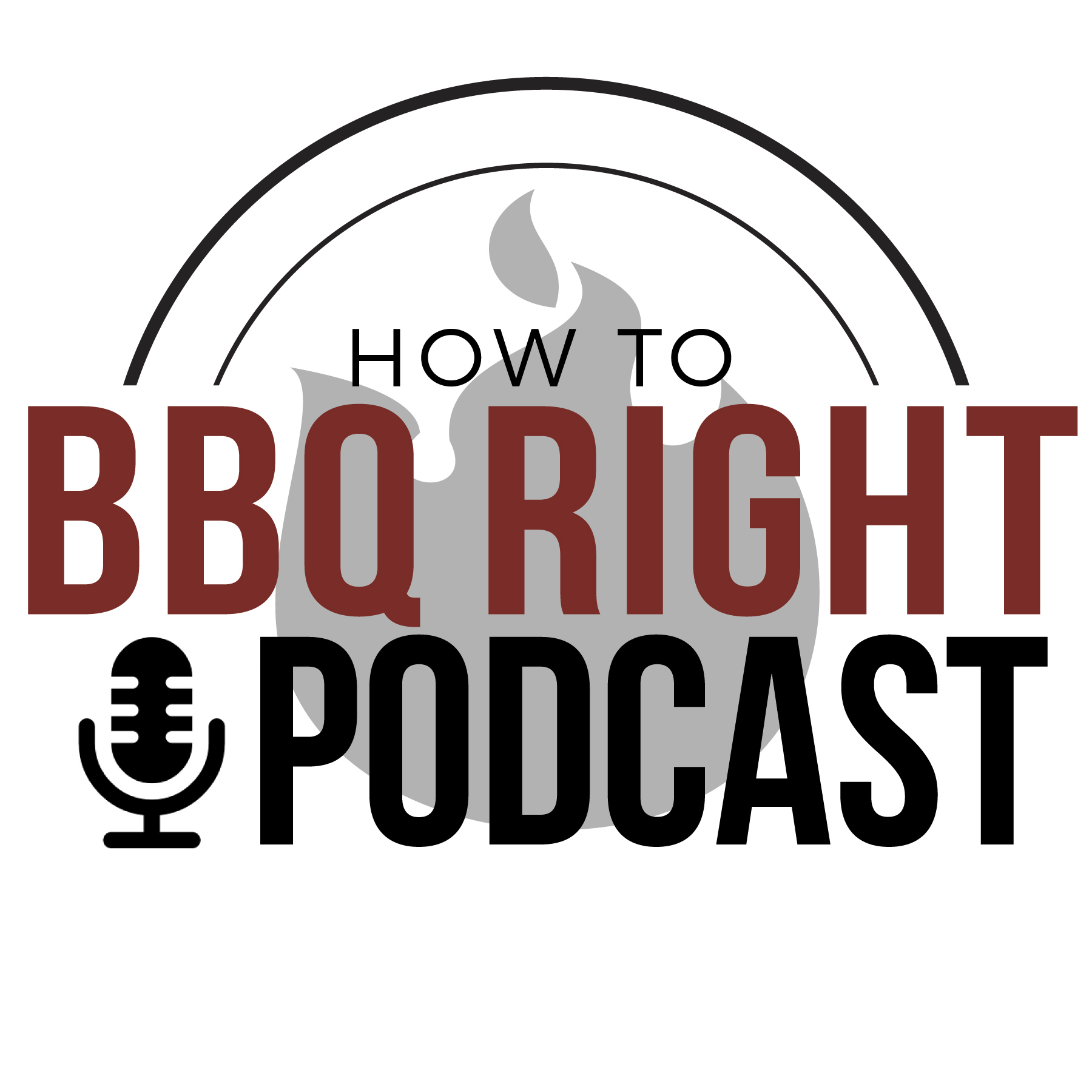 Malcom Reed's How To BBQ Right Podcast show art