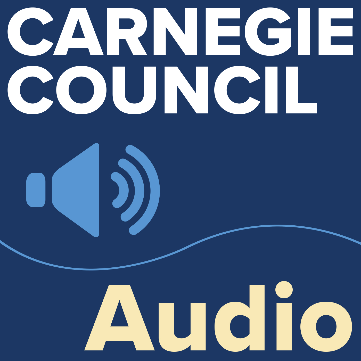 Carnegie Council Audio Podcast show art