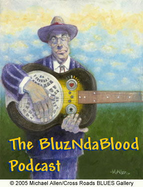 The BluzNdaBlood Show #157, Back In The Blues Alley!