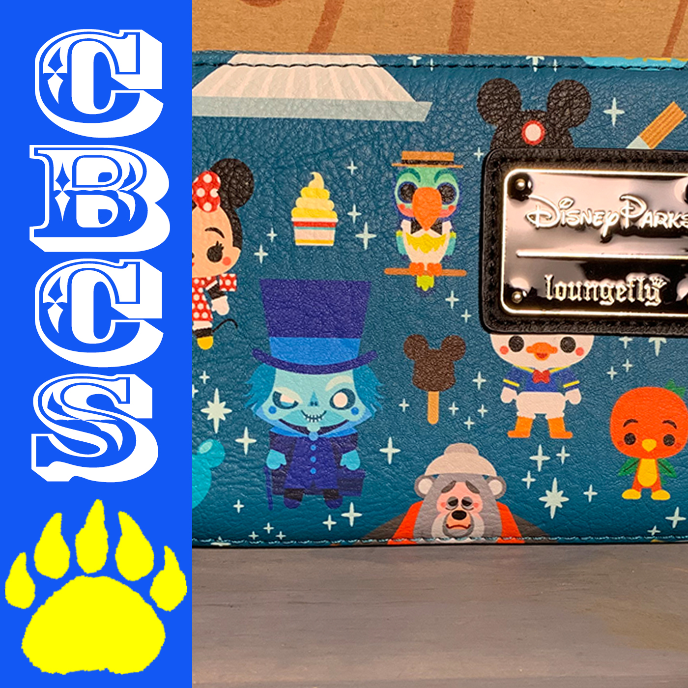 Artwork for 2019 Loungefly Cute Disney Parks Wristlet - Country Bear Collector Show #214