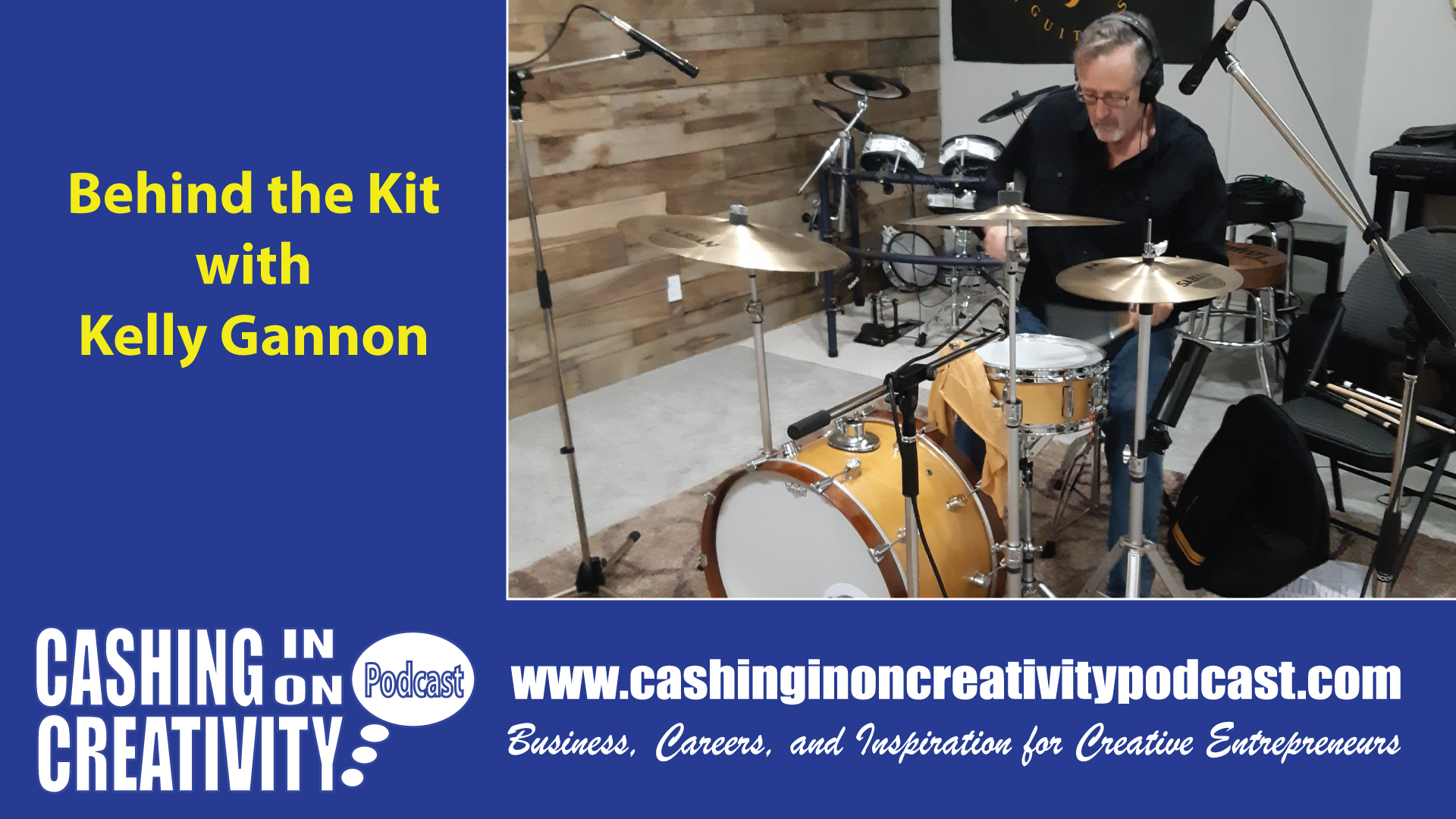 CC236 Behind the Drum Kit with Kelly Gannon