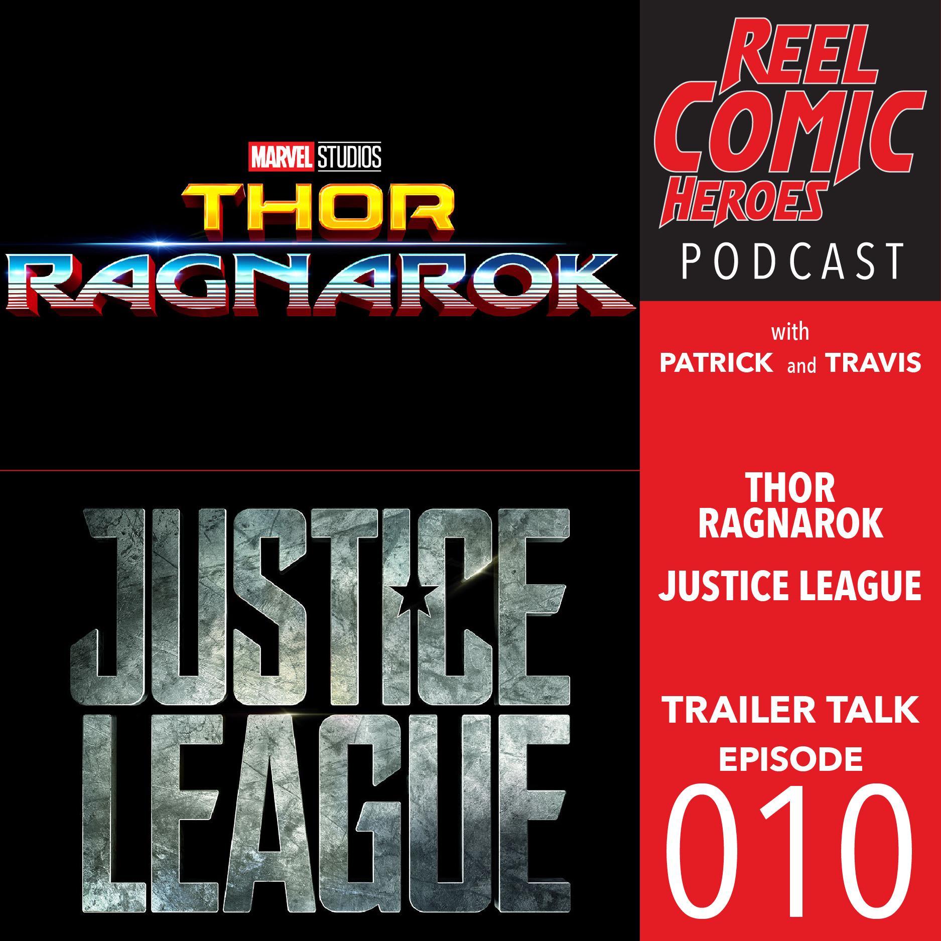 Artwork for Reel Comic Heroes - Trailer Talk 010