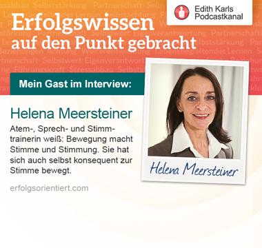 113 - Im Gespräch mit Helena Meersteiner