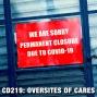 Artwork for CD219: Oversights of CARES