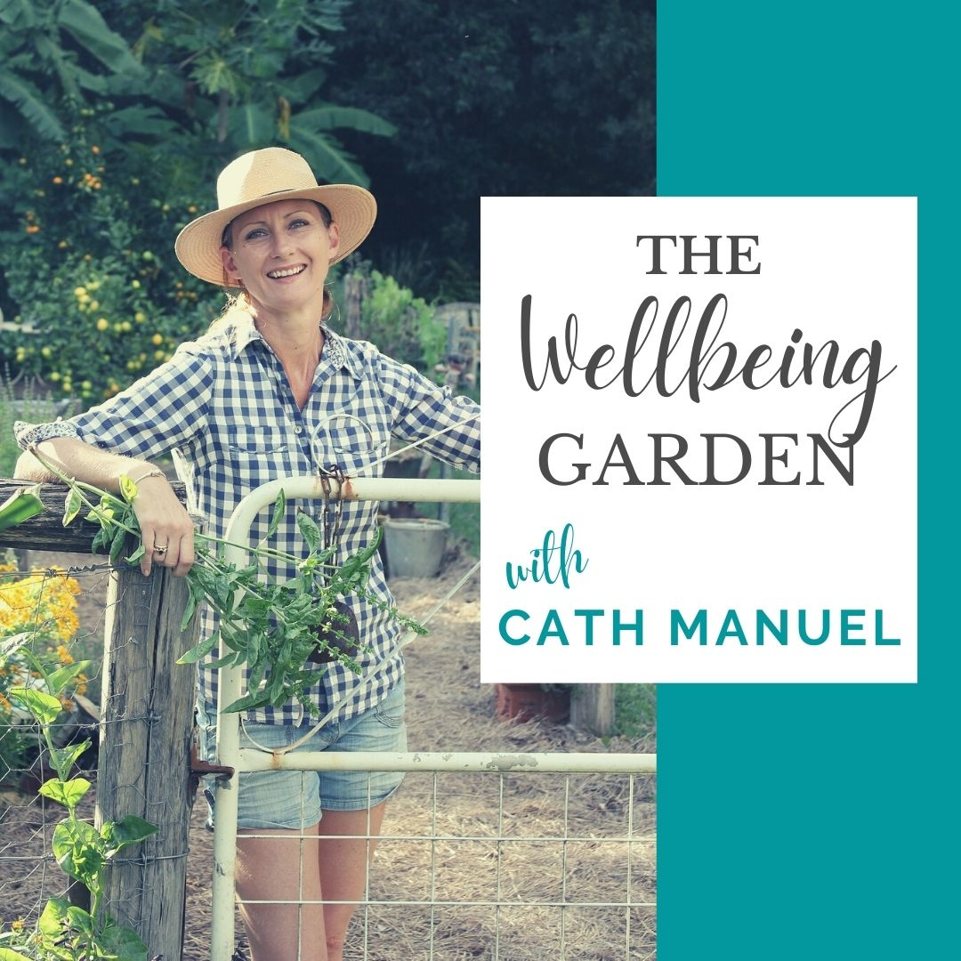 The Wellbeing Garden with Cath Manuel show art