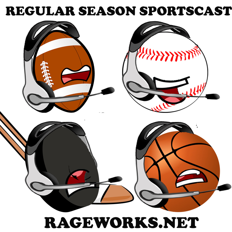 Artwork for The Regular Season Sportscast-Episode 49