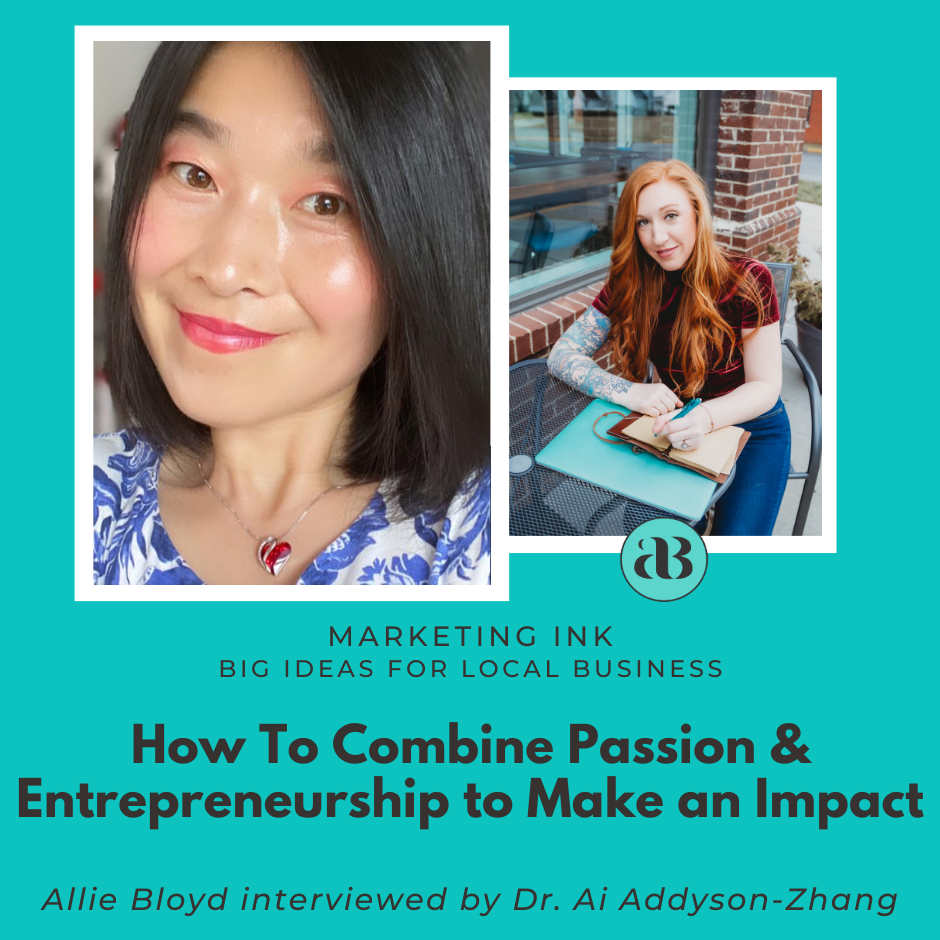 How To Combine Passion & Entrepreneurship to Make an Impact show art