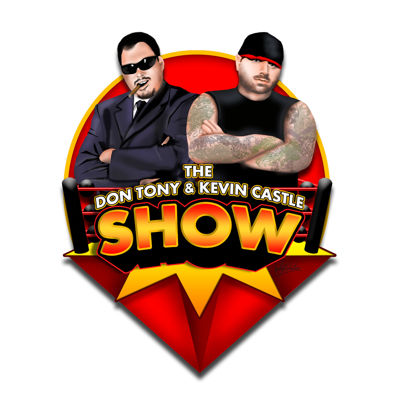 DON TONY AND KEVIN CASTLE SHOW logo