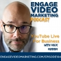 Artwork for EVM104 YouTube Live for Business with Nick Nimmin