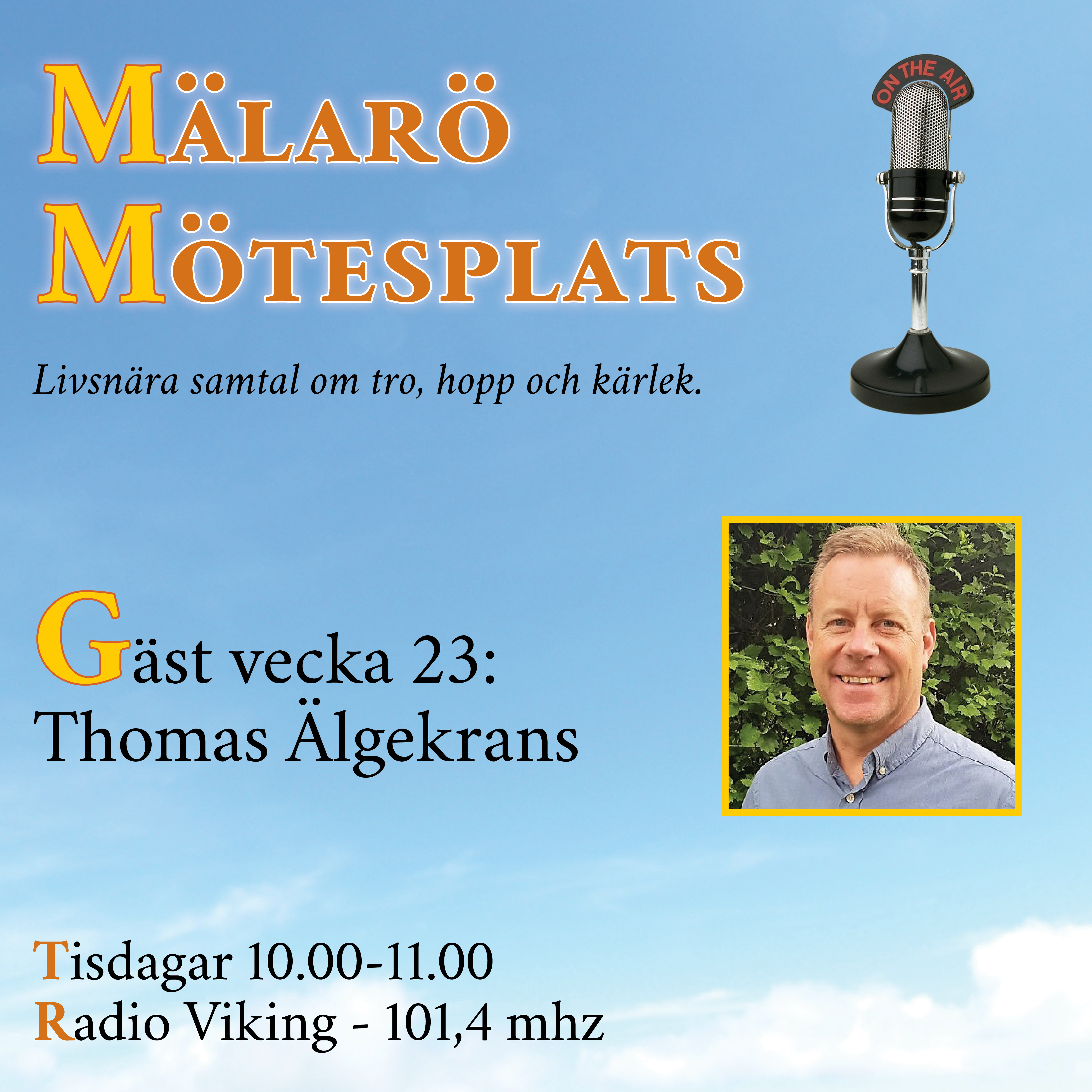 Möte med Thomas Älgekrans