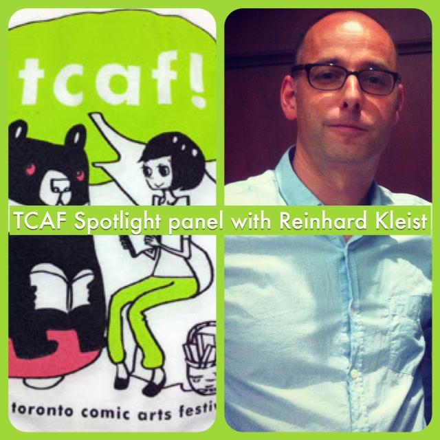 Episode 538 - TCAF Spotlight on Reinhard Kleist!