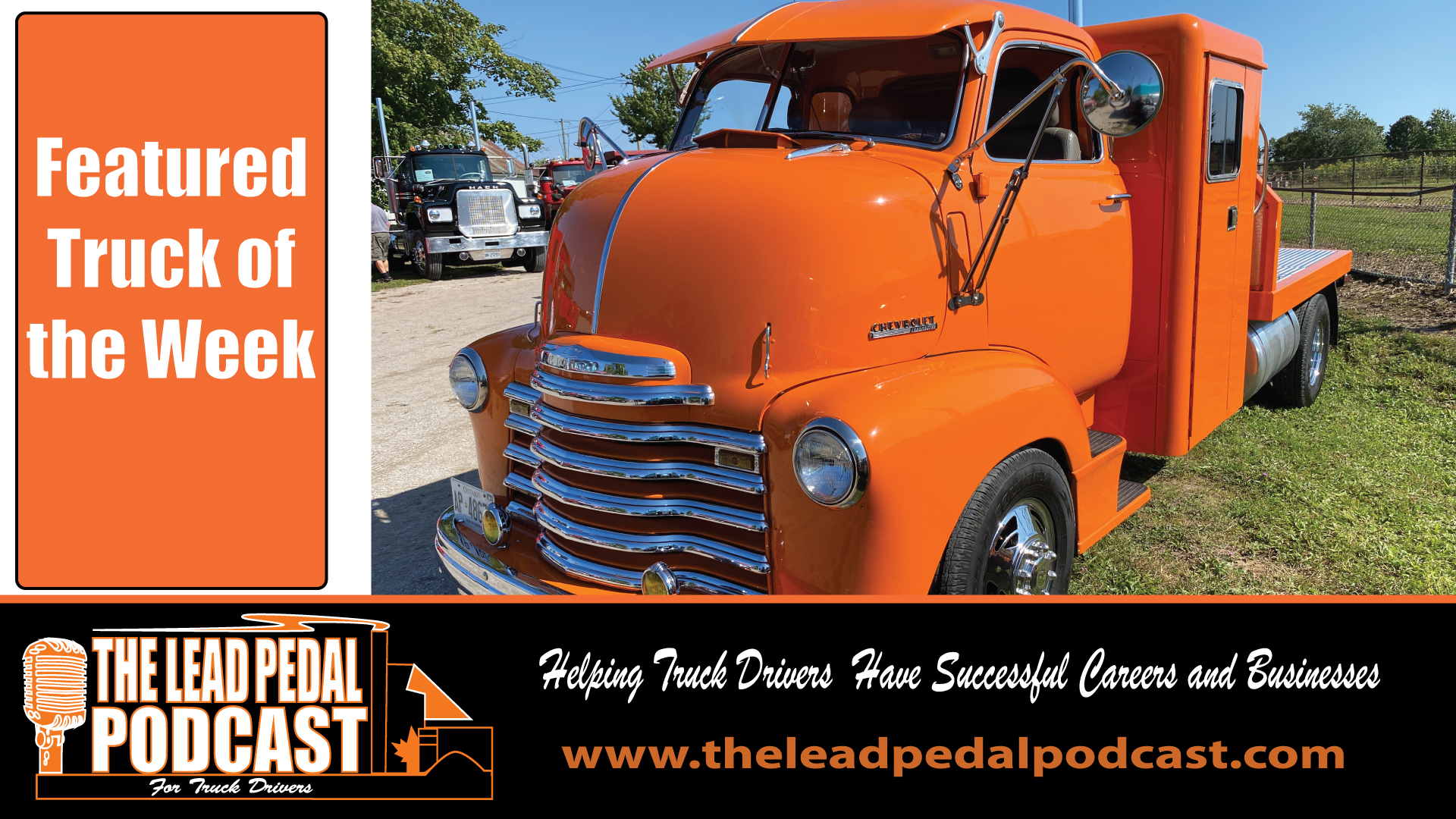 LP703 Featured Truck of the Week - 1947 Chevy Loadstar