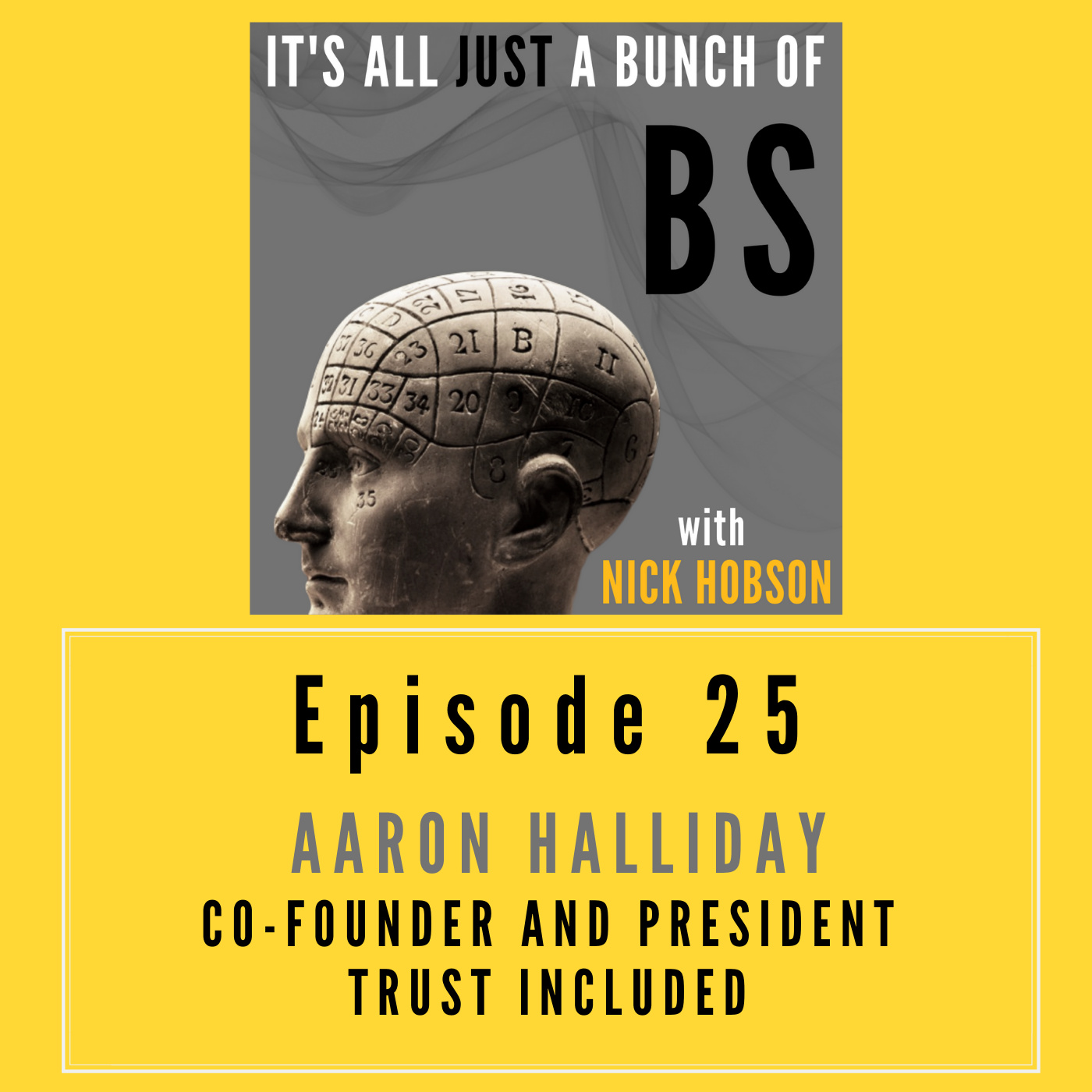 Episode 25 with AARON HALLIDAY: Jingling and Jangling All the Way - The Careful Use of Language for Applied BS