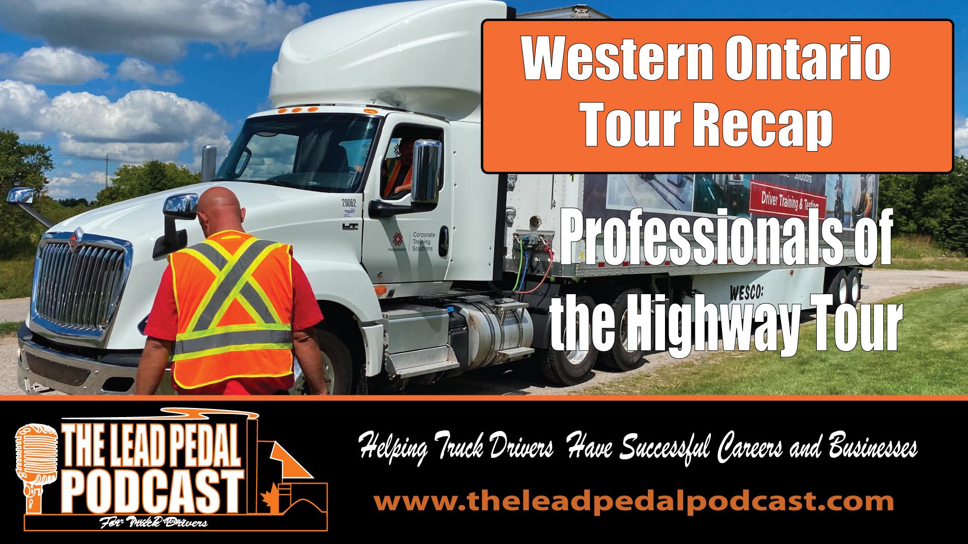 Professionals of the Highway Tour Recap