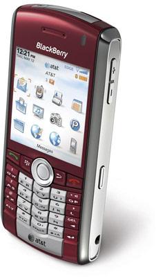 Treo 680 rojo y Blackberry Pearl con el operador AT&T