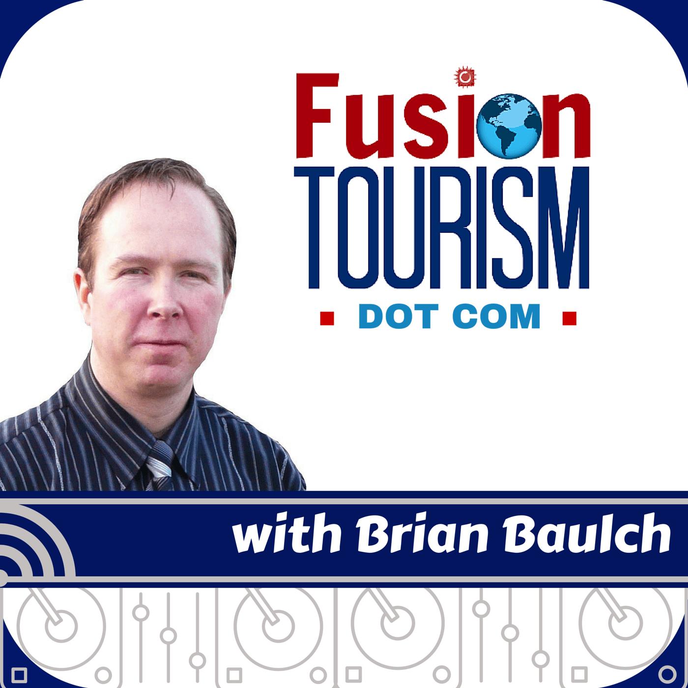 Fusiontourism Podcast show art