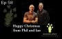 Artwork for EP58: Happy Christmas From Phil Taylor & Ian Brennan - Magicians Advice