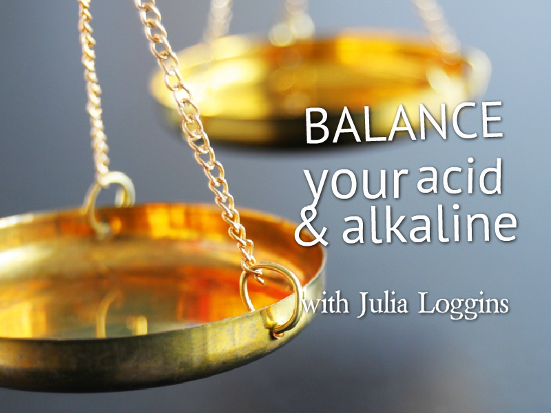 """BALANCE Your Acid & Alkaline"" with Julia Loggins"
