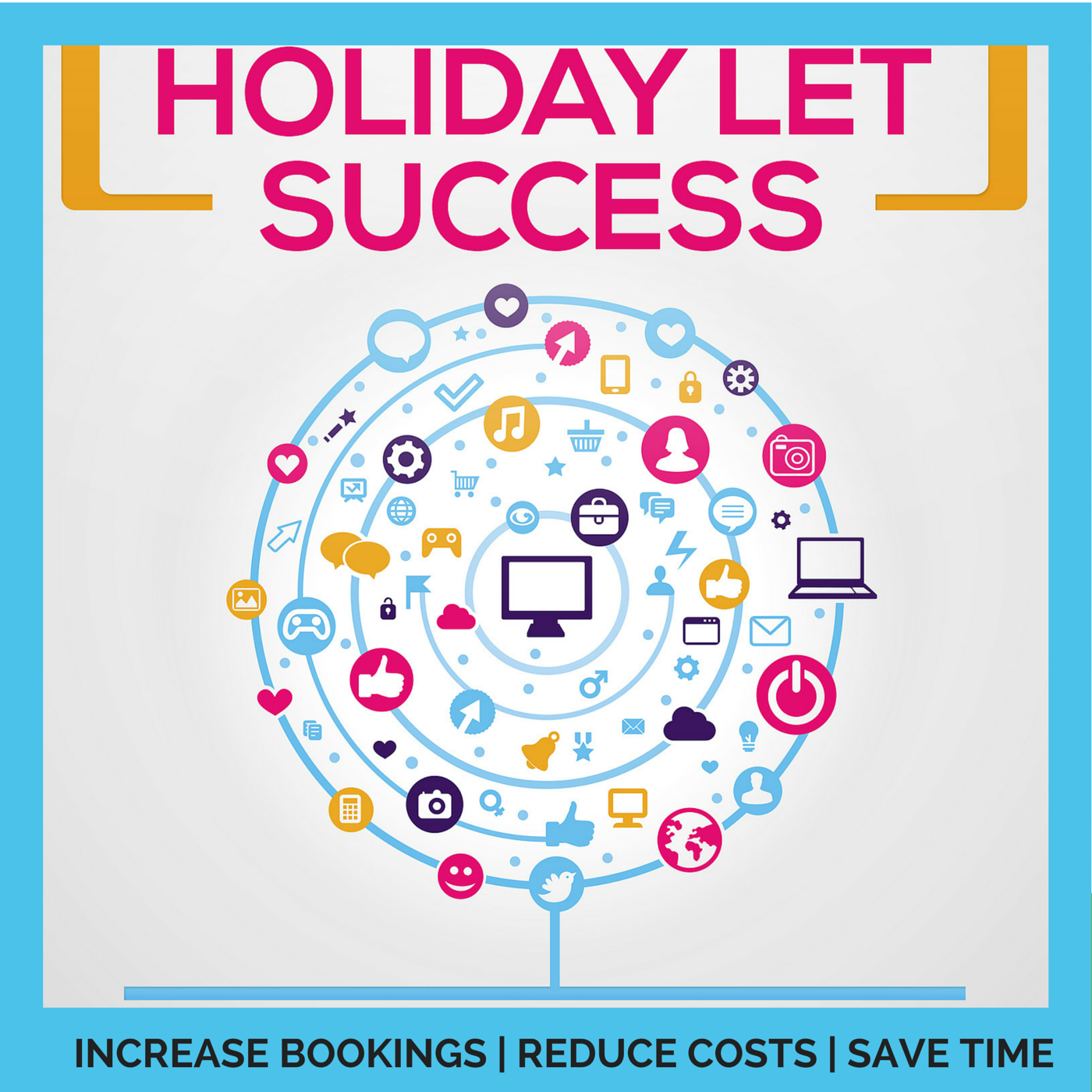 Holiday Let Success | Vacation Rental | Marketing | Elaine Watt | Property Investing | Serviced Accommodation | Holiday Rental | Increase Bookings | Reduce Costs | Save Time | Property Management  logo