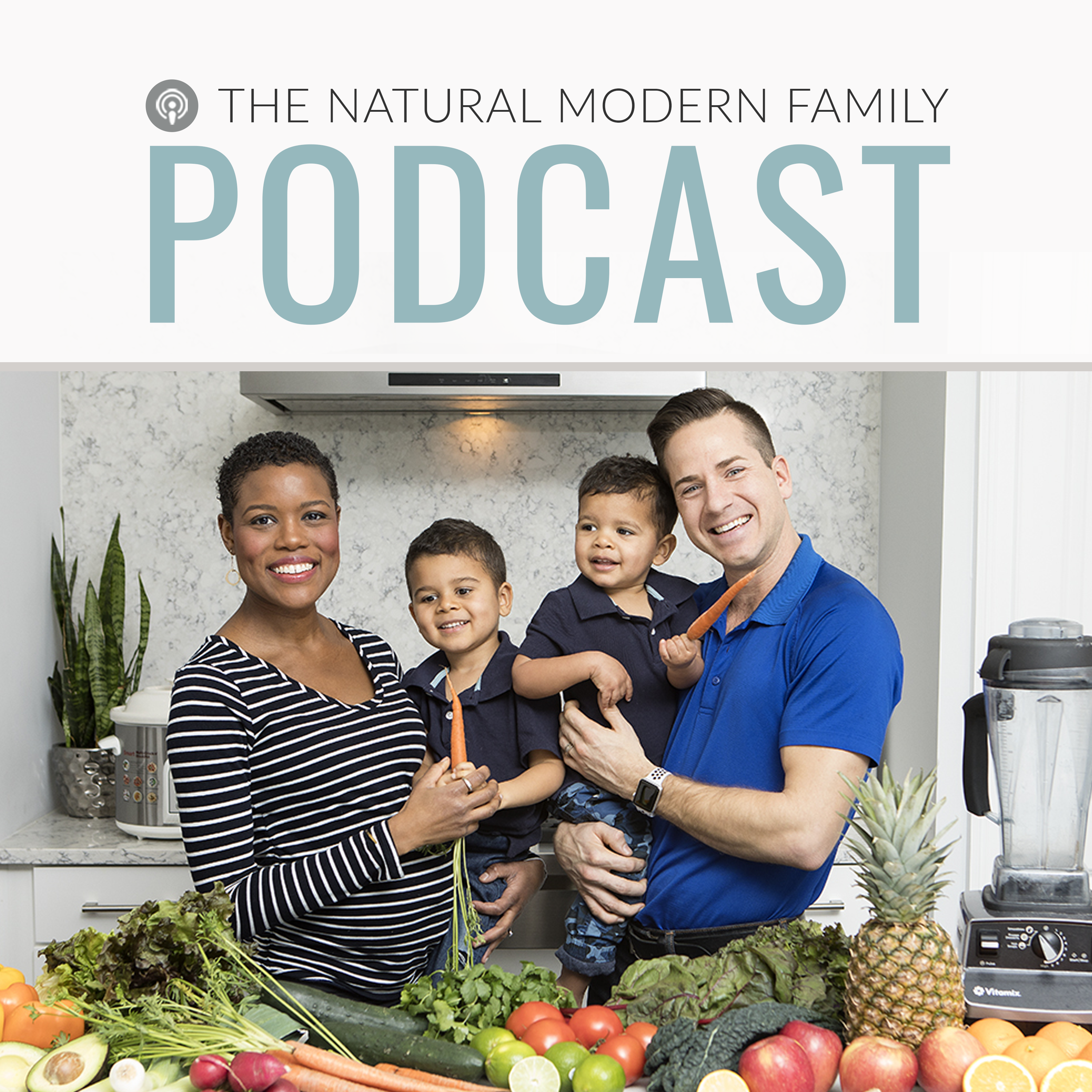 The Natural Modern Family Podcast show art