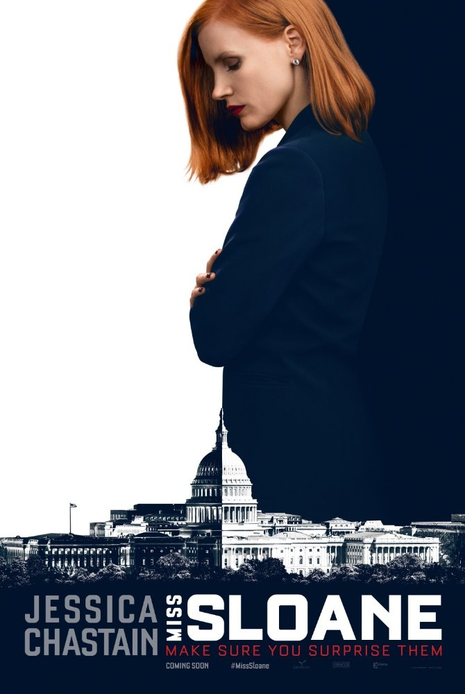Ep. 277 - Miss Sloane (Bowling for Columbine vs. Runaway Jury)