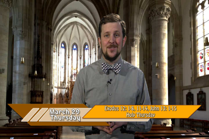 Artwork for iGod Today with Andrew Doyle;  Today's Topic:  Holy Thursday