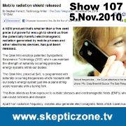 The Skeptic Zone #107 - 5.Nov.2010