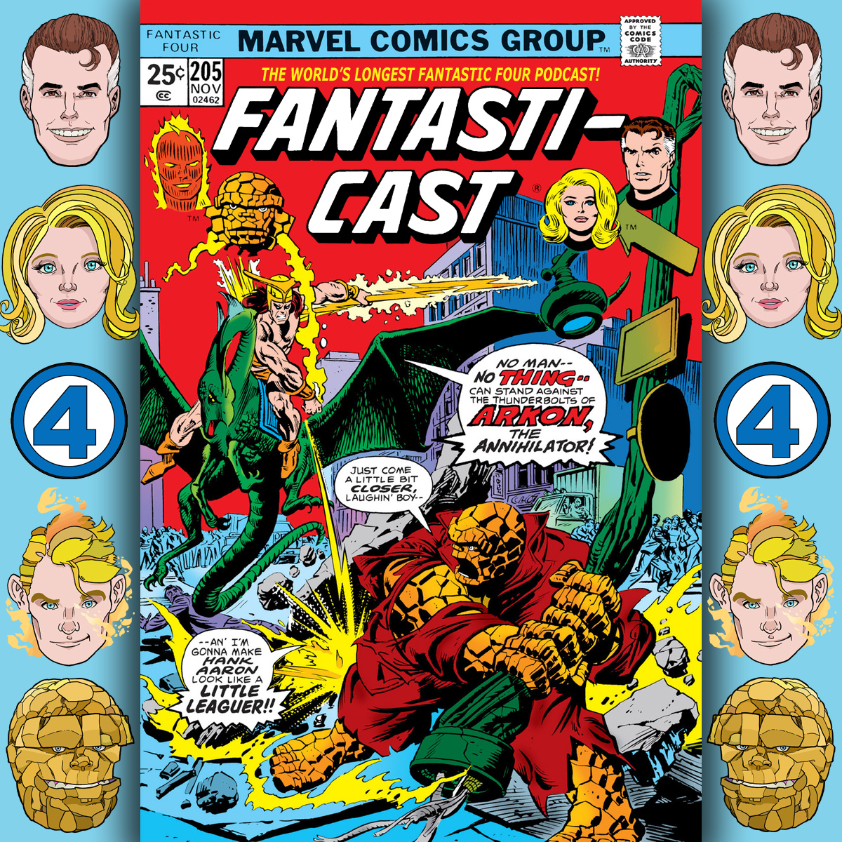 Episode 205: Fantastic Four #160 - In One World And Out The Other