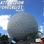 Artwork for Spaceship Earth (No Narration) - EPCOT - Walt DIsney World - Attraction Checklist #51