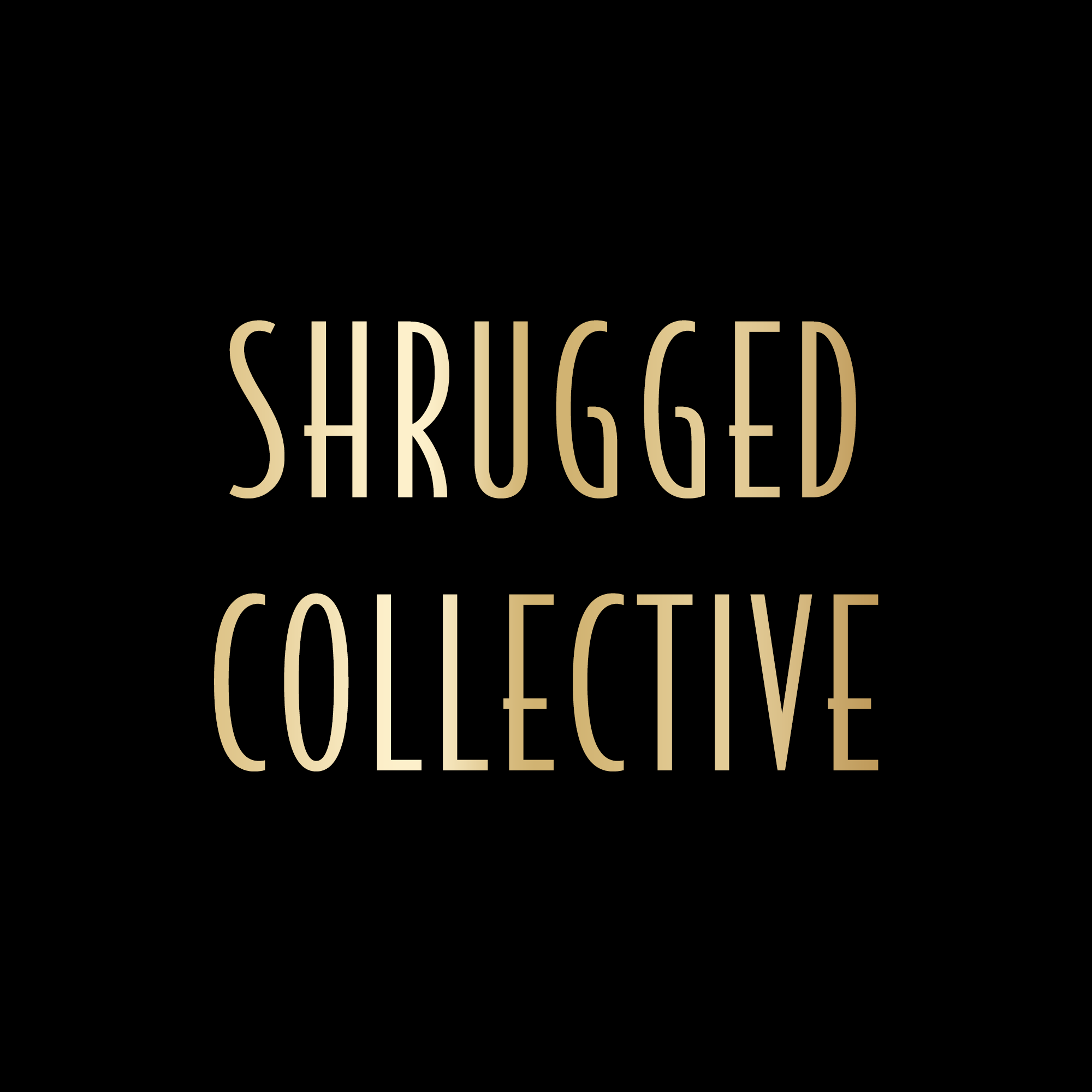 Shrugged Collective - A  network of fitness, health and performance shows that help people achieve their physical and mental health goals logo