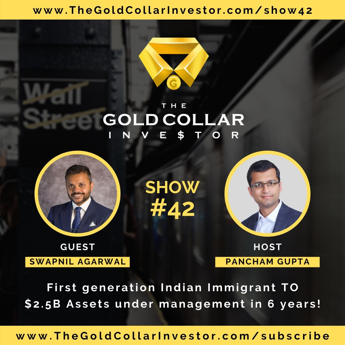 TGCI 42: First generation Indian Immigrant TO $2.5B Assets under management in 6 years!