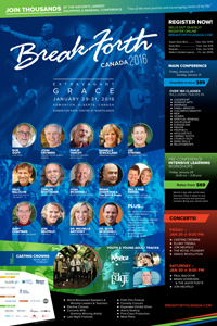 Break Forth Canada 2016 Brochure