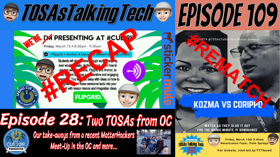 TOSAs Talking Tech's Podcast