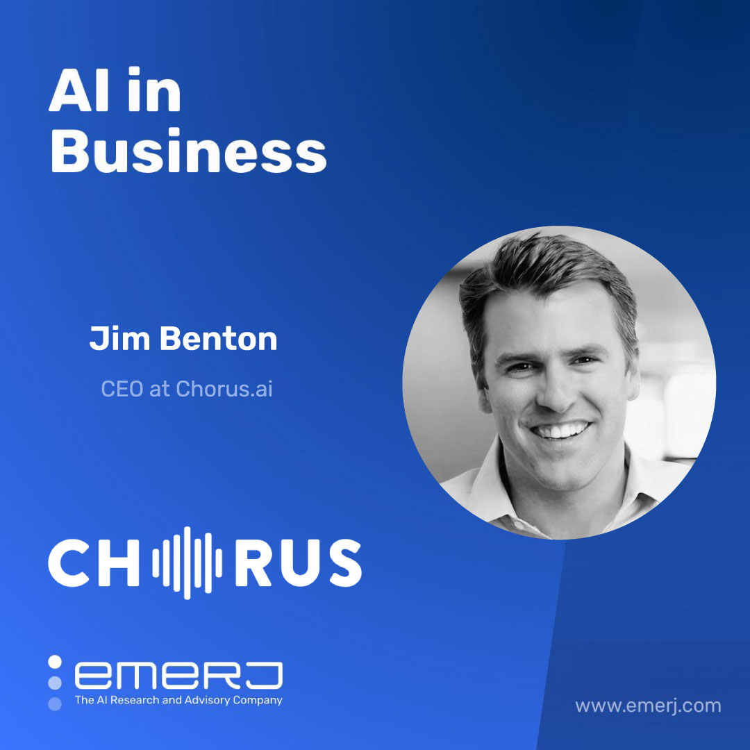 AI and the Future of Sales Enablement - with Jim Benton of Chorus.ai
