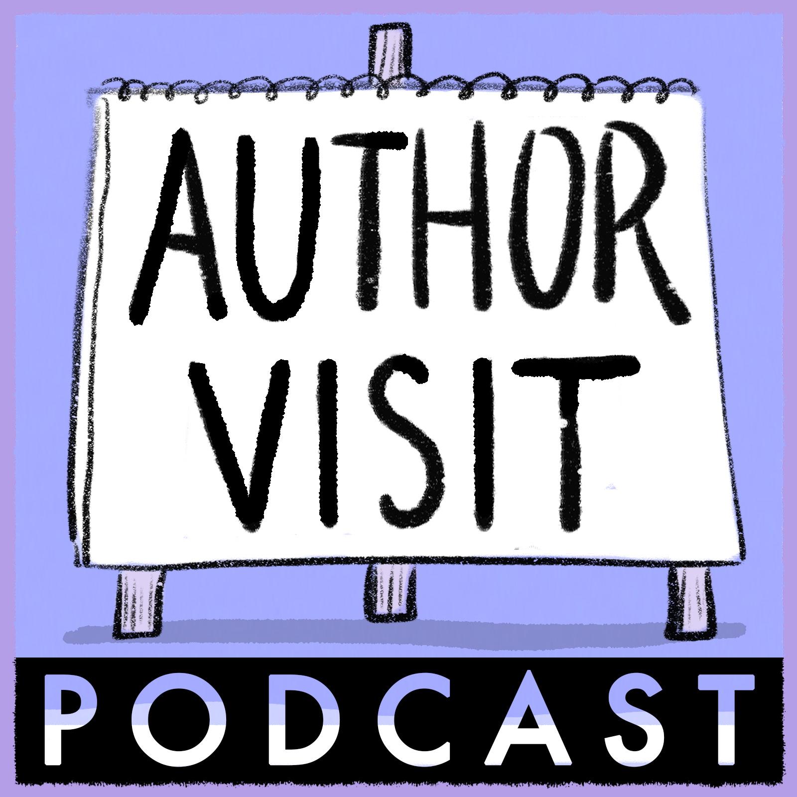 Author Visit Podcast show art